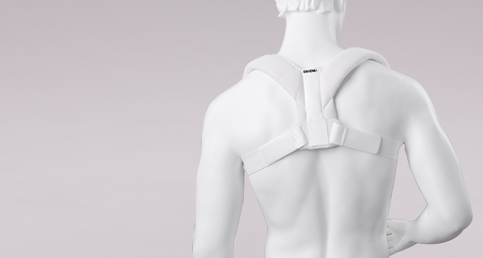 ERH 53 The figure-of-8 correcting posture shoulder brace, REHAortho series