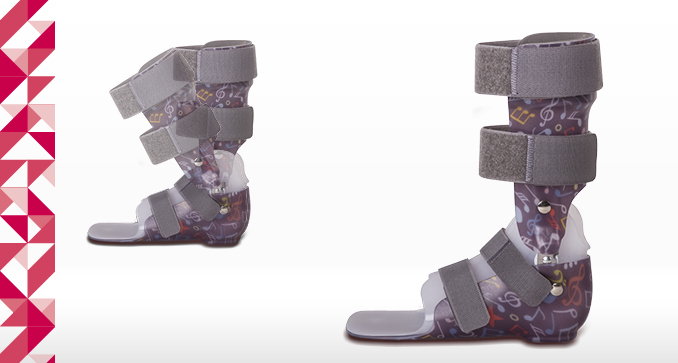 DAFO Active 1, Short orthosis correcting axial disorders in the frontal plane, AFO/DAFO series