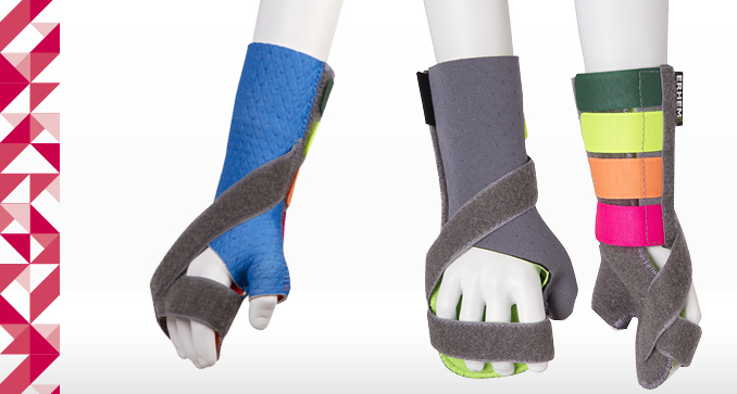 ERH 47/1 Hybrid/ Forearm-hand splint with thumb retraction