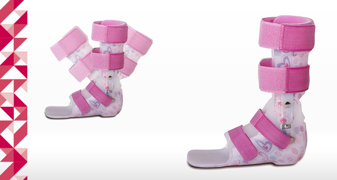 DAFO Active 2, Short orthosis correcting axial disorders in the frontal plane, AFO/DAFO series