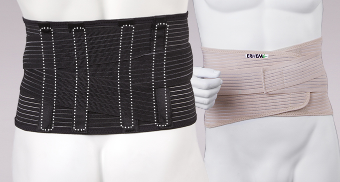 ERH 36 Sacro-lumbal low belt, REHAortho series