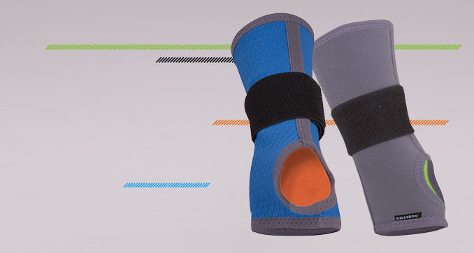 ERH 38/2 Soft wrist brace, REHAproactive series