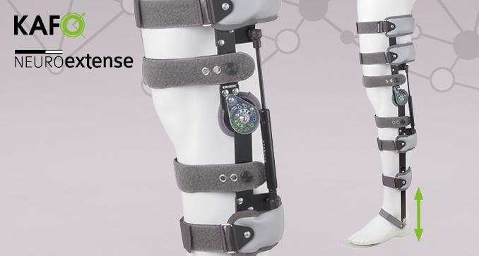ERH 52/1 Tibia and thigh apparatus redressing the knee joint, REHAneuro / Neuroextense series
