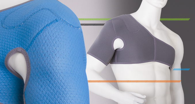 ERH 59 Shoulder joint stabilizer, REHAproactive series