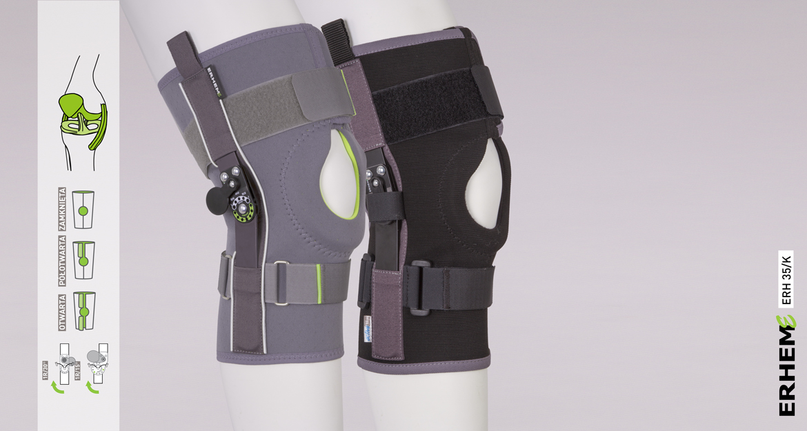 ERH 35/K Knee joint brace short, REHAortho series