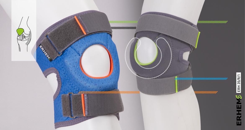 ERH 35/R/1 Kneecap stabilizing brace, REHAproactive series