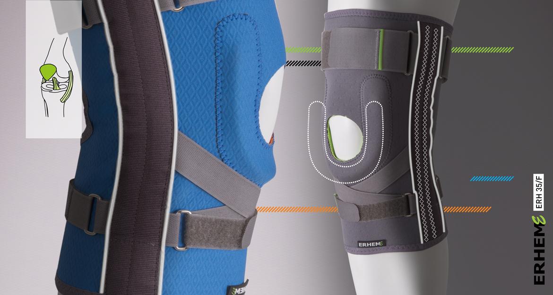 ERH 35/F Kneecap stabilizing brace, REHAproactive series