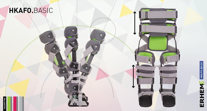 HKAFO.BASIC Orteza obejmująca obręcz biodrową, uda, golenie i stopy